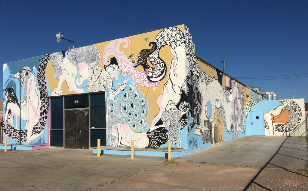 The 705 Erogenous Zone mural by Aaron Sheppard,