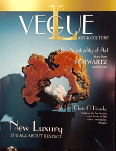 L'Vegue Magazine featuring Dorit Schwartz