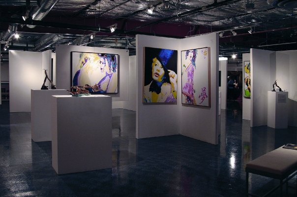 Facility design and curation of art for EHM of Las Vegas (2008) featuring the art of Todji Kurtzman and Bobby Logic