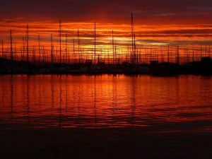 Sunrises in Sausalito, Laura Henkel Photography