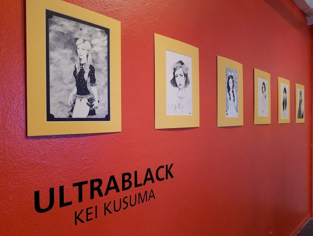 Ultrablack by Kei Kesuma (Indonesia), Best in Show exhibition, Sin City Gallery (2017)
